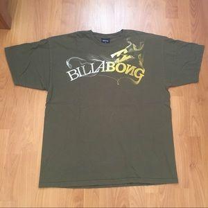 Vtg Billbong Smokey Spell Out T-shirt